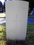 Clayson's Commonwealth War Graves Commission Headstone