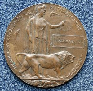 Thomas Heaney's Dead Man's Penny