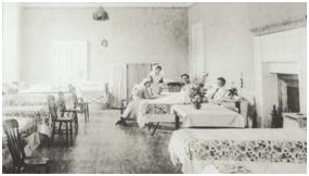 Dunham Massey, WWI