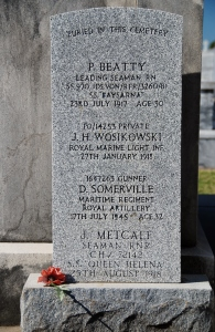 Peter Beatty's tombstone