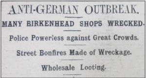 Birkenhead News, 12th May 1915