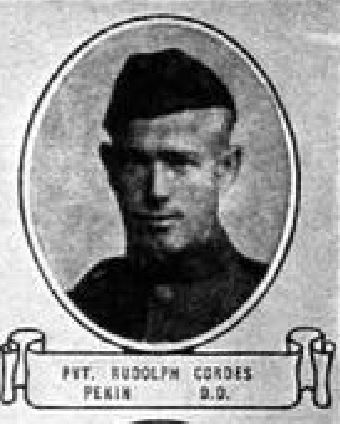 Rudolph Cordes from 'Soldiers of the Great War'_